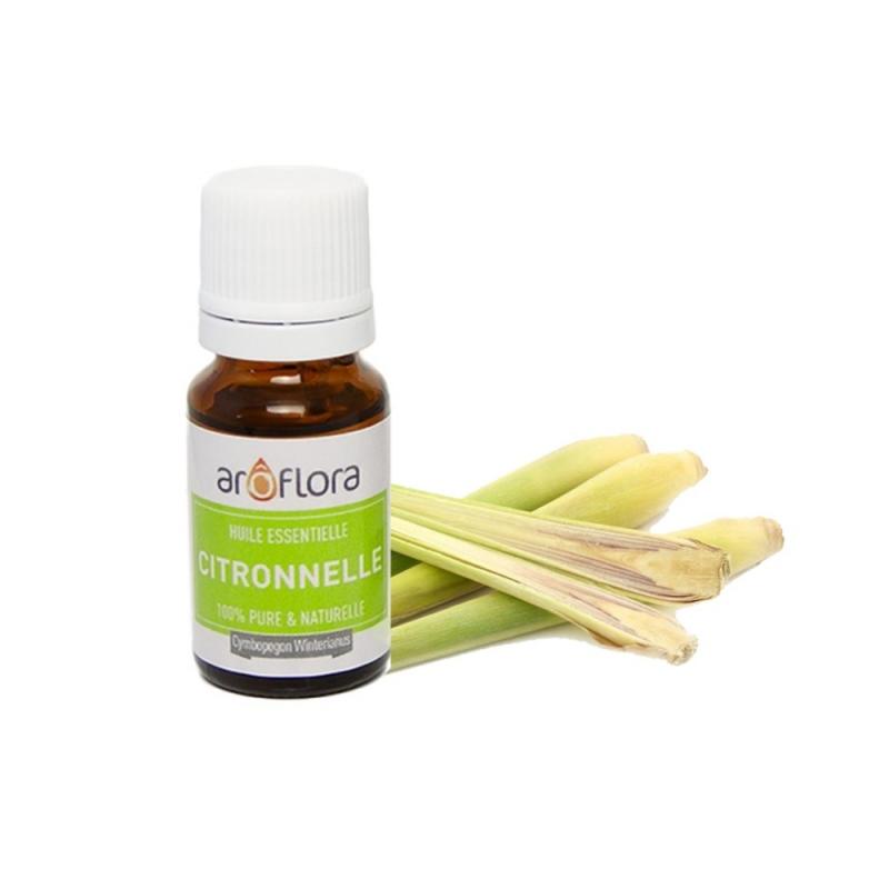 huile essentielle bio citronnelle