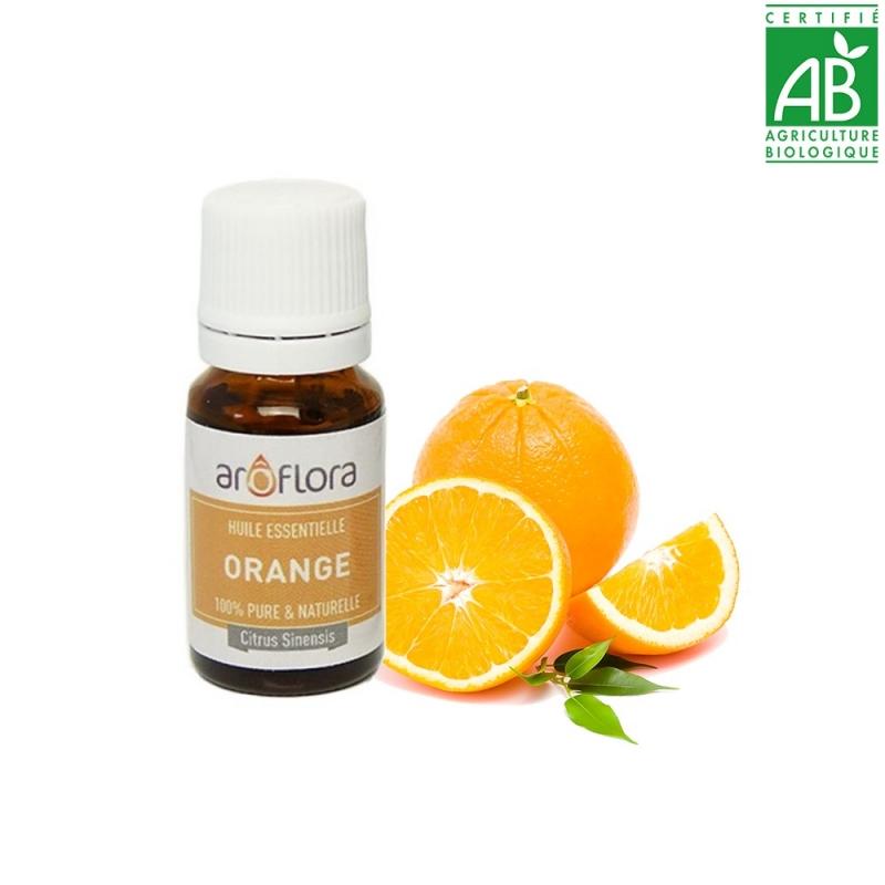 huile essentielle bio orange